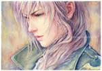 Lightning Watercolor