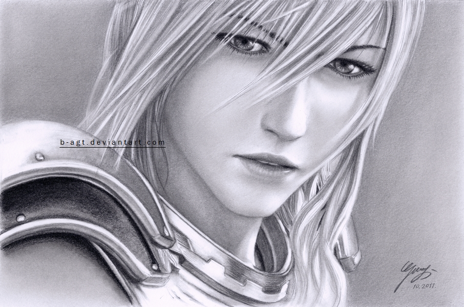 Lightning XIII-2 Drawing 3 by B-AGT