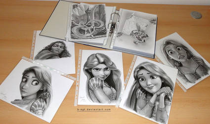 Collection Tangled Part 2 by B-AGT