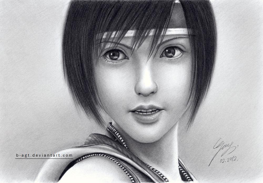 Yuffie by B-AGT