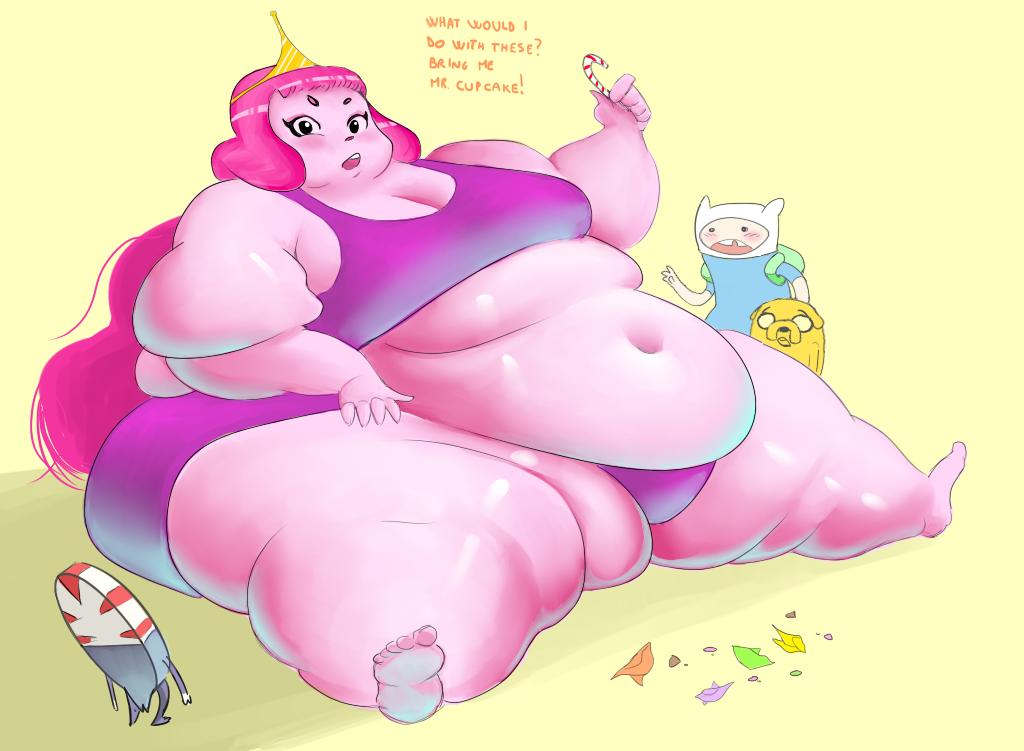 Hungry Bubblegum by ashgallalla