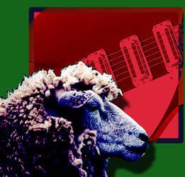 Pop-Rock Sheep by Amnoss