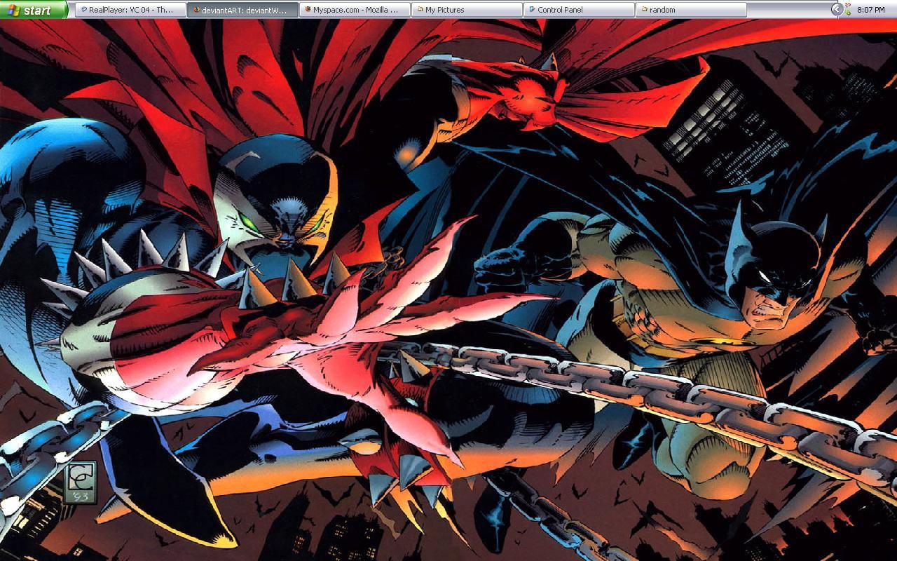 Spawn Batman By Marvel Vs DC