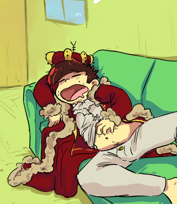 Trash King Is Sleeping by DerCouch