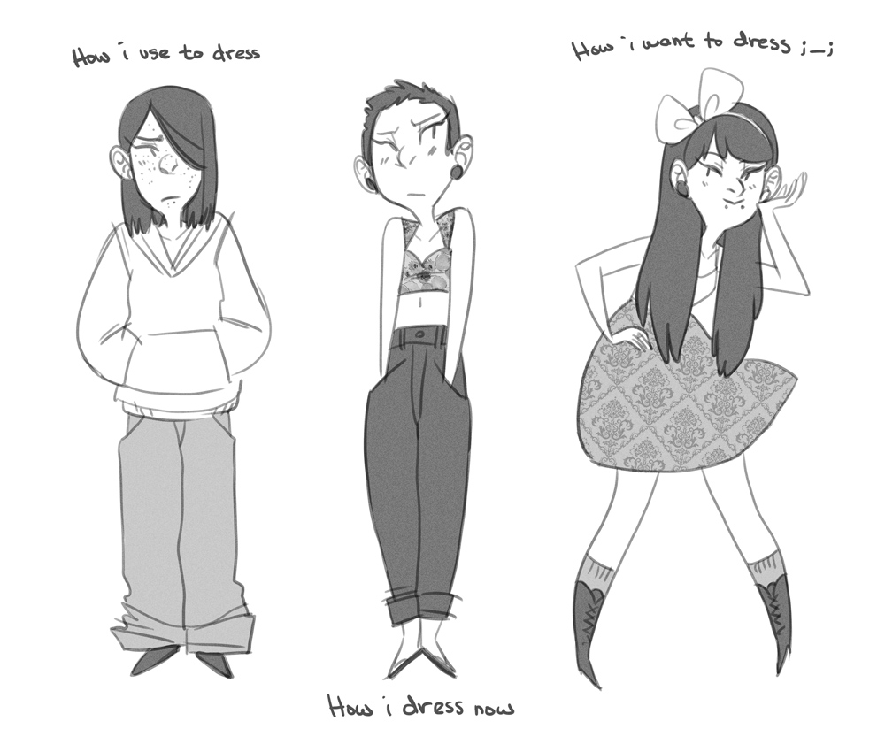 Fashion meme by kmwoot