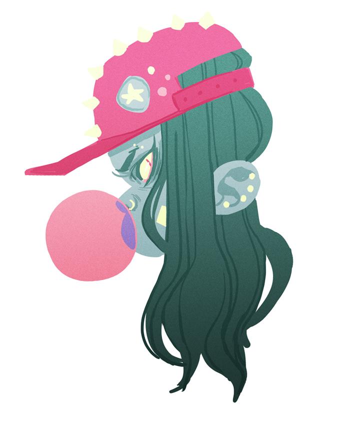 Bubblegirl by kmwoot