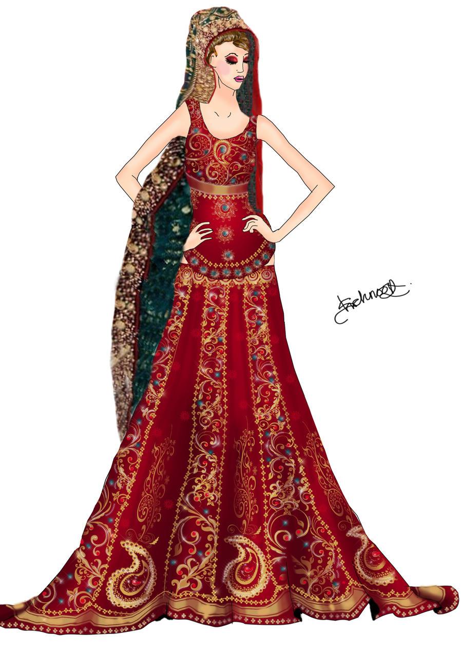 Pakistani Bridal Dress by Shehnoor2412 on DeviantArt