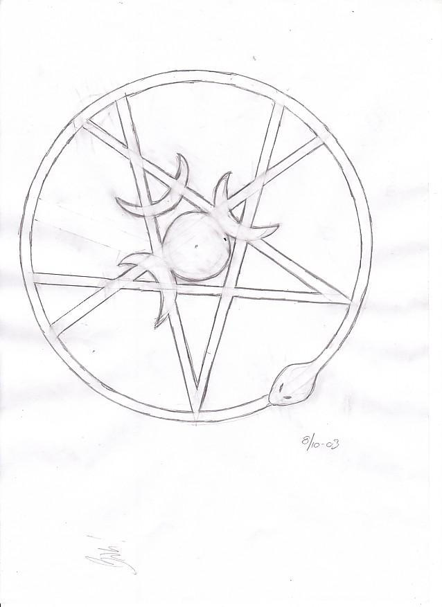 Wiccan Protection Symbol Tattoos