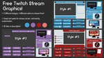 Twitch Stream Graphics // free downloads!