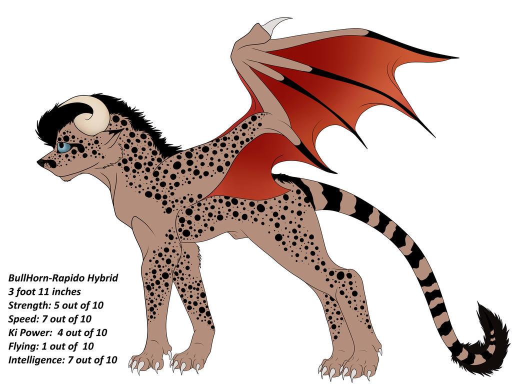 Dakotian Hybrid Adopt Special 1(taken) by Redwolfless