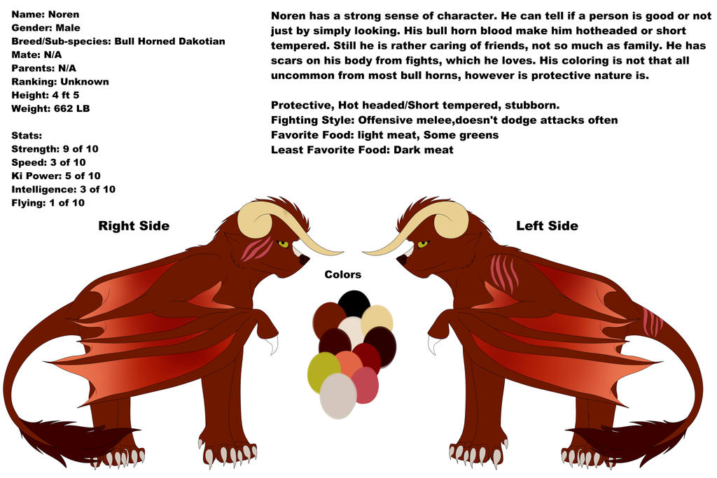 Noren Ref by Redwolfless