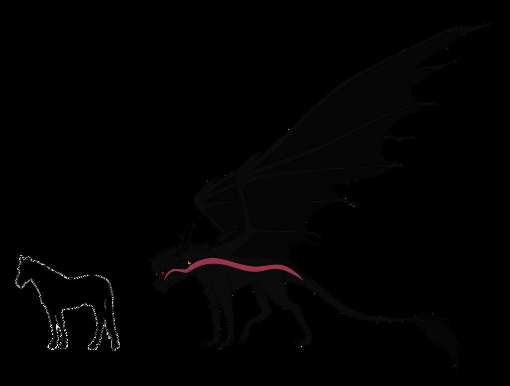 Dakota's Size At Full Power by Redwolfless