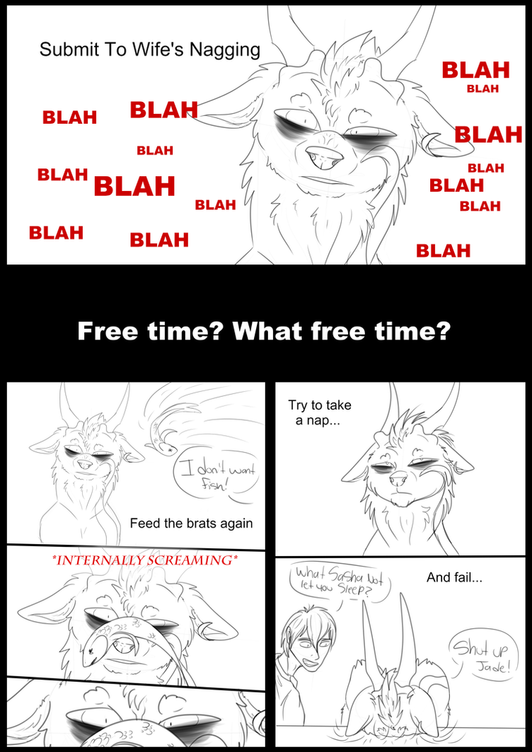 A Day In The Life Of Dakota Part 2 by Redwolfless