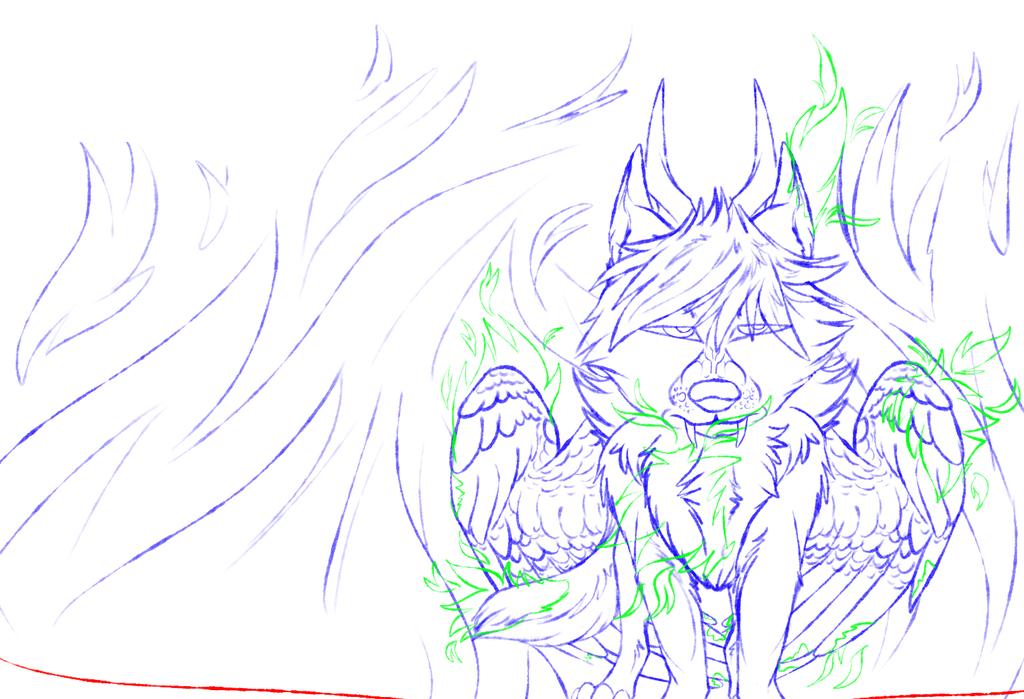 Just let me Burn(WIP) by Redwolfless