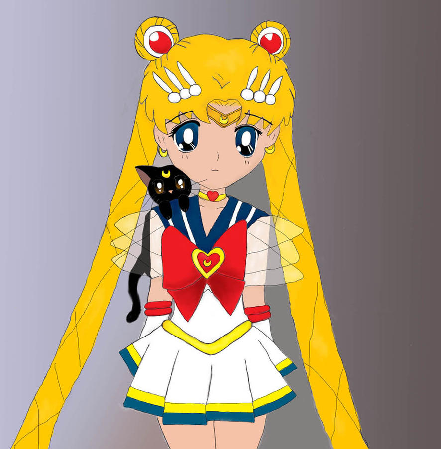 Sailor Moon by epona675