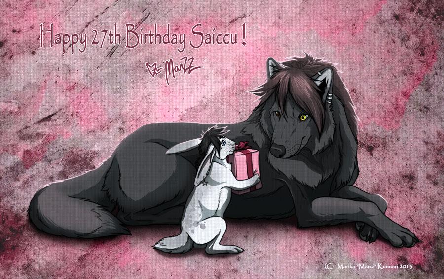 Happy Birthday Saiccu! by Marzzunny