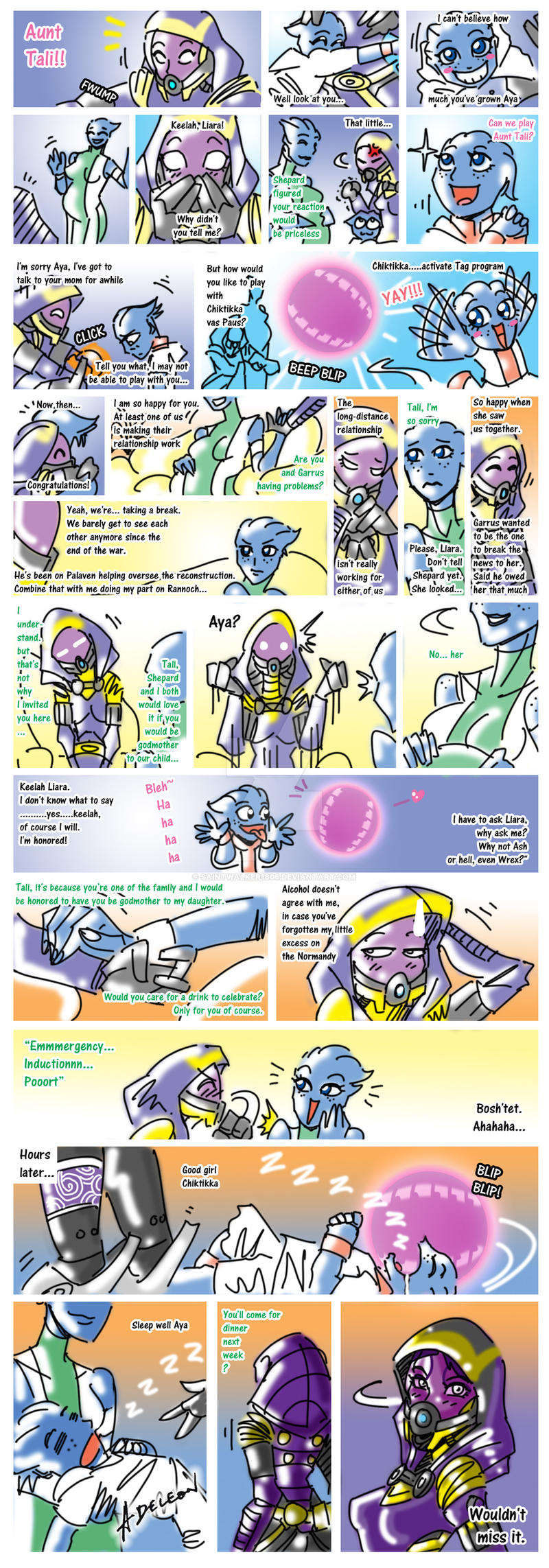 Tali's Teatime Tag by SaintWalker1806