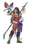 Spectra Urseth, Huntress for the Wild Hunt