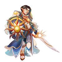 Horjin Stormgear, Cleric of the Dawnfather by SaintWalker1806