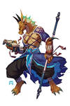 Balthazar Crux, Dragonborn Monk
