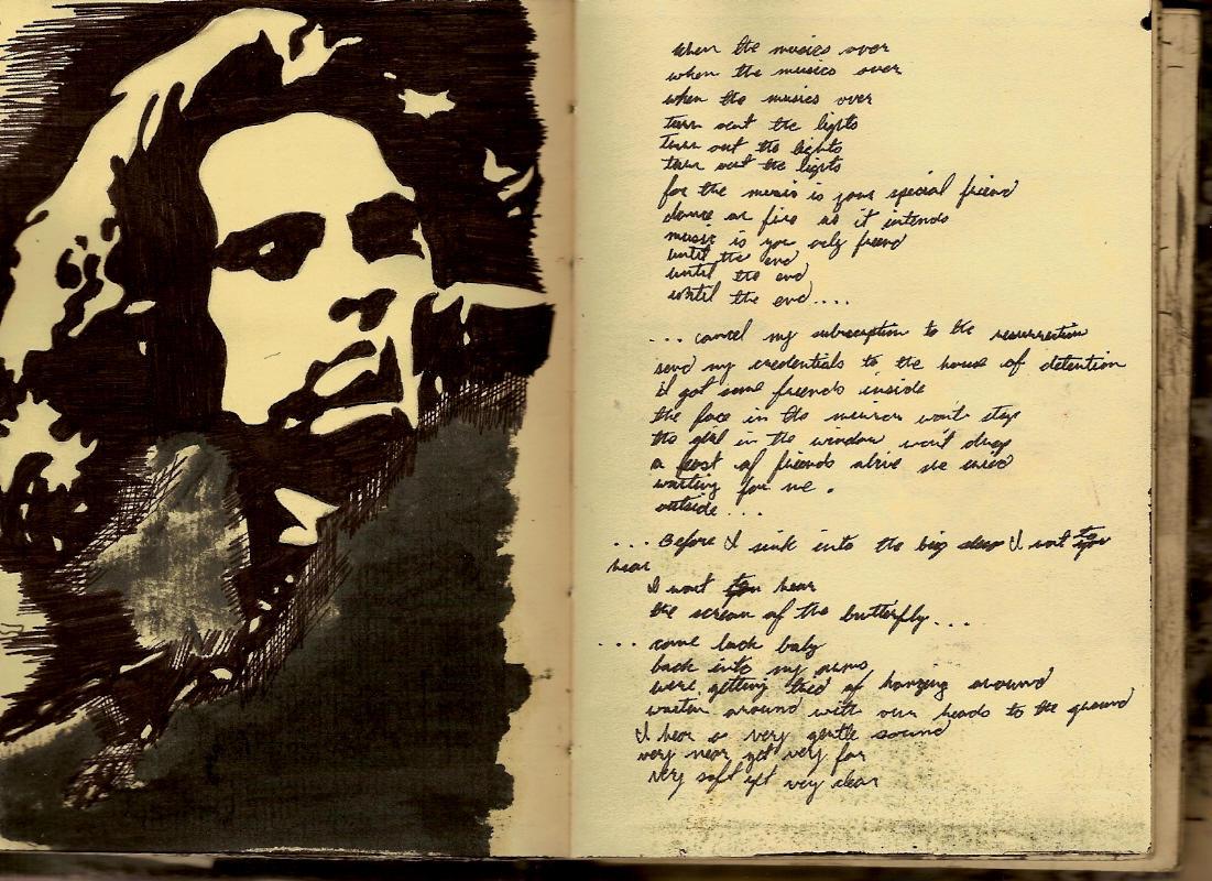 Jim Morrison the end lyrics