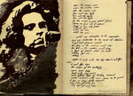 Jim Morrison Sketchbook Shrine