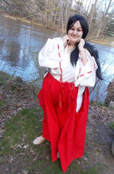 Kikyo cosplay u by CuyahogaBobcat