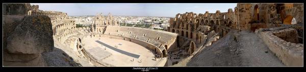 Amphitheatre of El Jem 01 by AdamART
