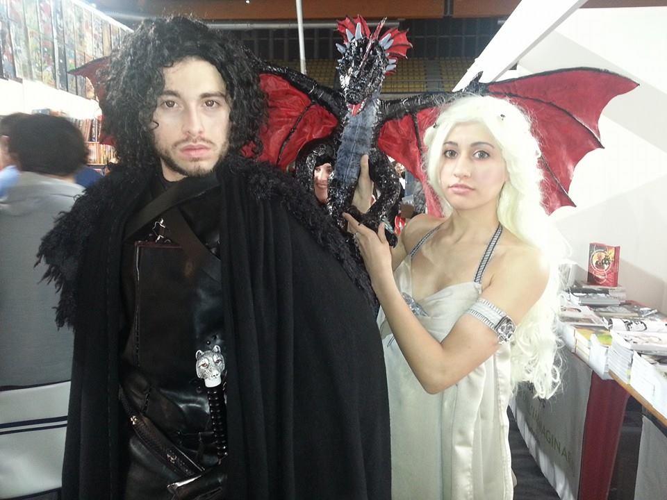 Jon Snow and Daenerys Targaryen cosplay by ShanaAmu ...  sc 1 st  DeviantArt & Jon Snow and Daenerys Targaryen cosplay by ShanaAmu on DeviantArt