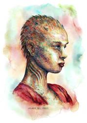 Laia portrait by atlantisdesetoiles