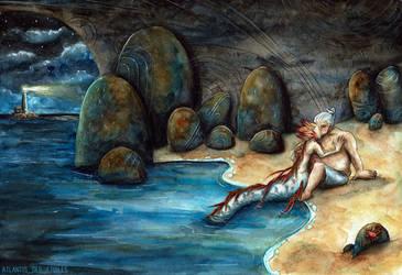 Tidal kiss by atlantisdesetoiles