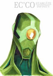 Ec'co, the alien by atlantisdesetoiles