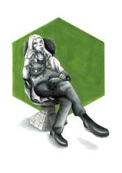 +comission+ The good wraith doctor by atlantisdesetoiles