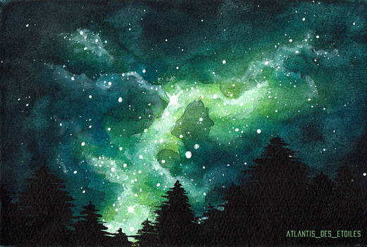 Small green spaceart
