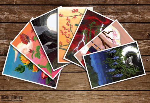 Hanafuda by Diane Georges card preview