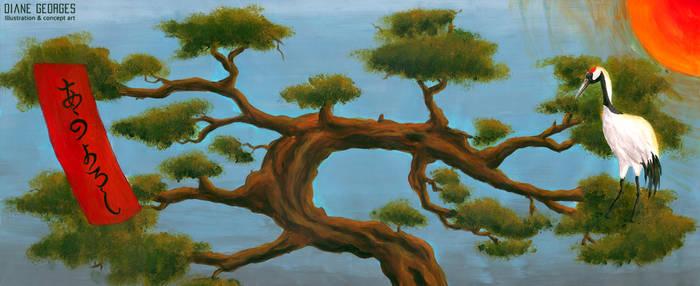 Hanafuda-pine