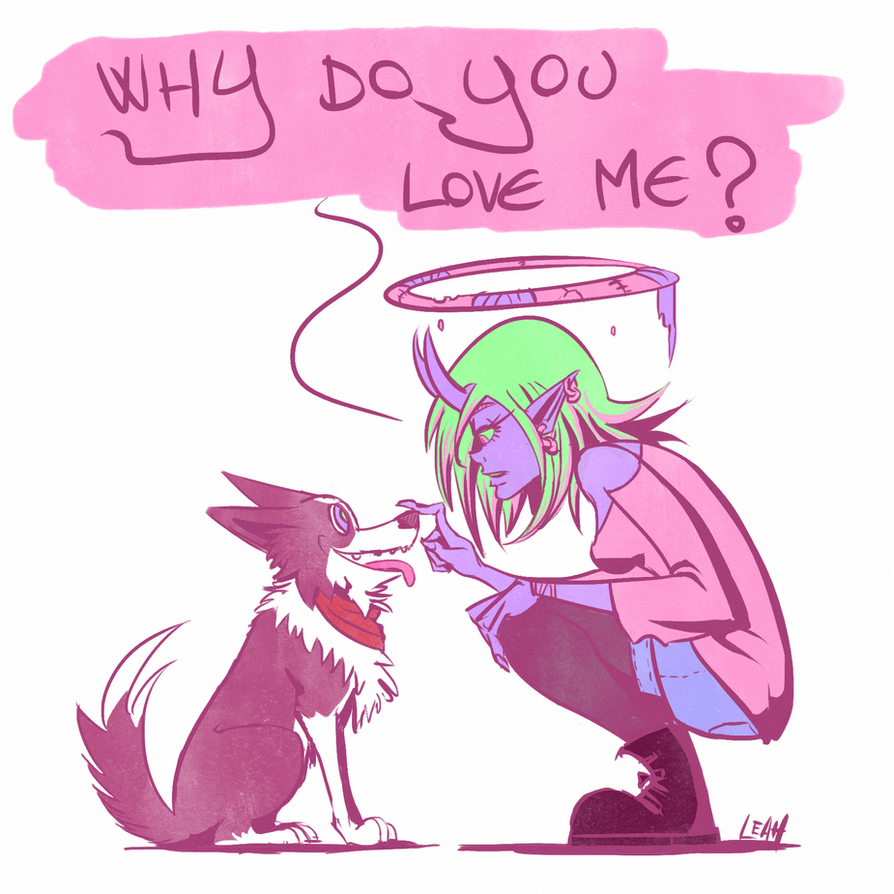 Dog Love by Raki-Saeki