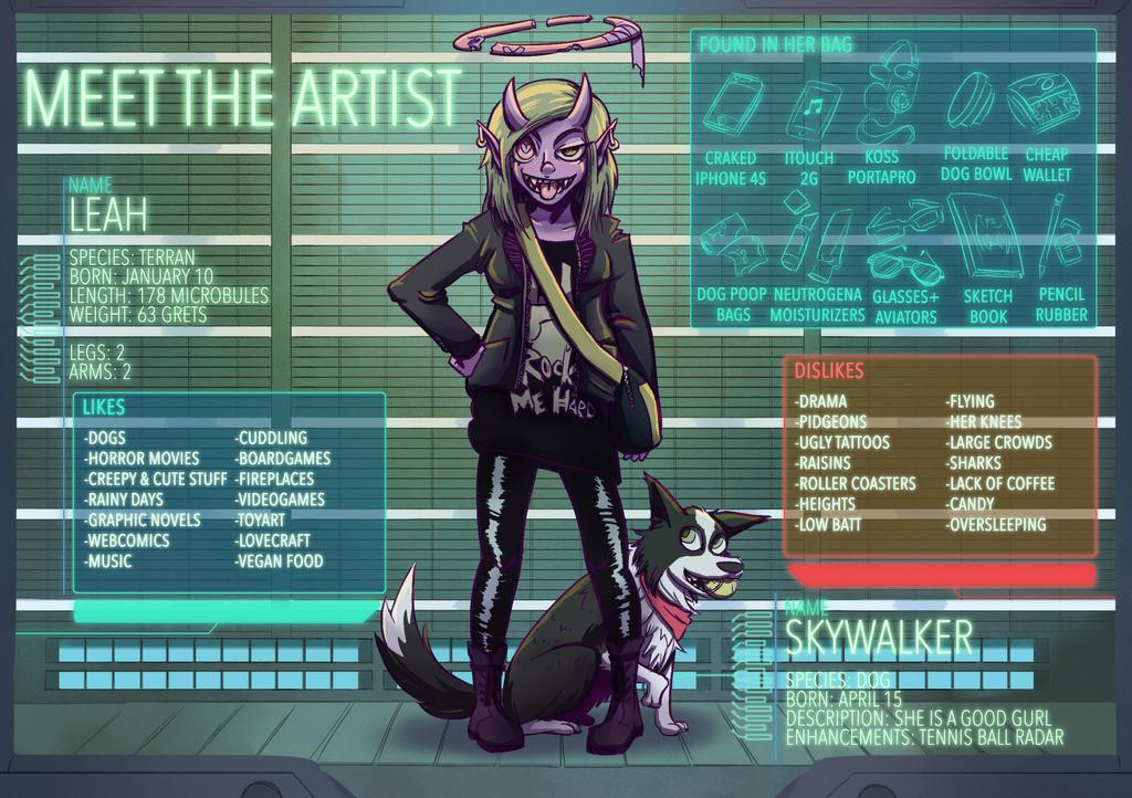 MEET THE ARTIST: Leah by Raki-Saeki