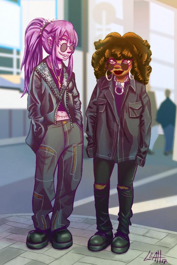 Natalie and Alexis by Raki-Saeki