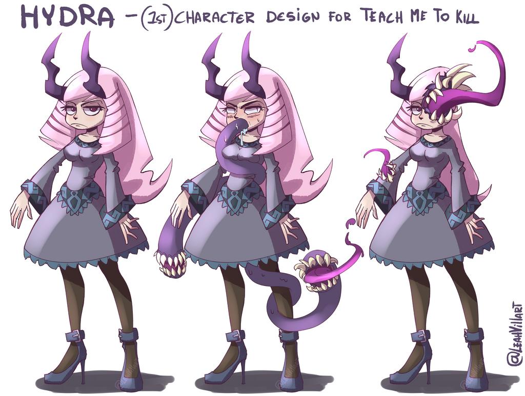 Hydra - 1st concept design by LeahVillart