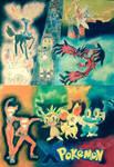 Pokemon X and Y: My Artwork