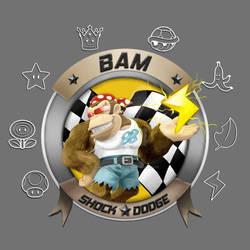 Bam Shock Dodge - Shirt Design [TWD98]