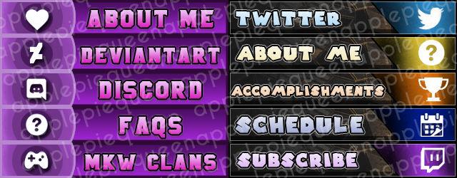 Twitch panels [NMeade] [FacadeGames]
