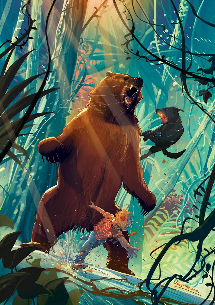 Malcolm and Ramses vs Bear