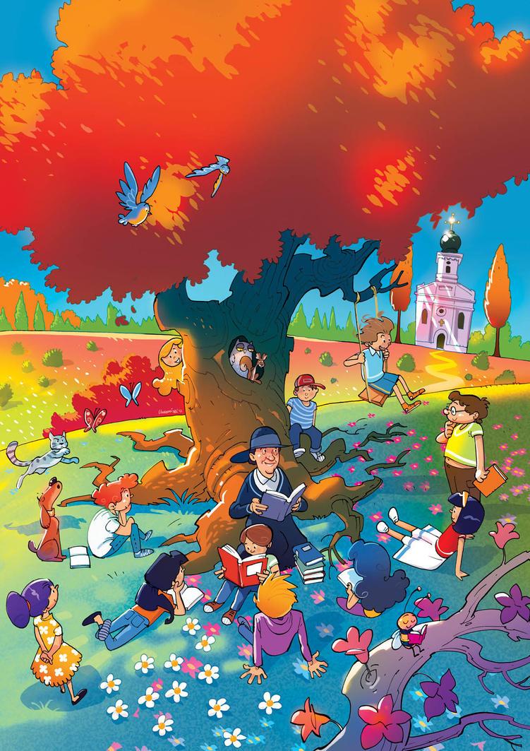 Kids Art Book Cover : Children book cover by jovan ukropina on deviantart