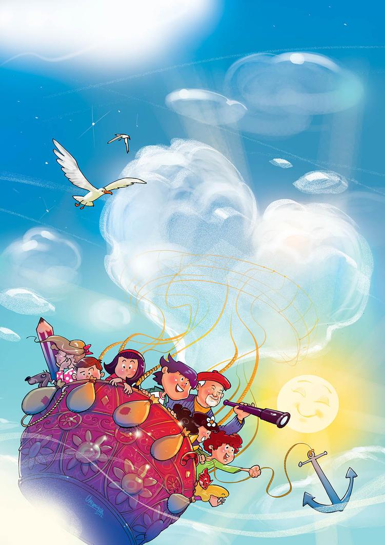 Children S Book Covers Art : Children book cover by jovan ukropina on deviantart