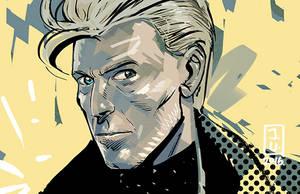 David Bowie by Jovan-Ukropina