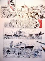 1940 Et Si La France 3 working process 1 by Jovan-Ukropina
