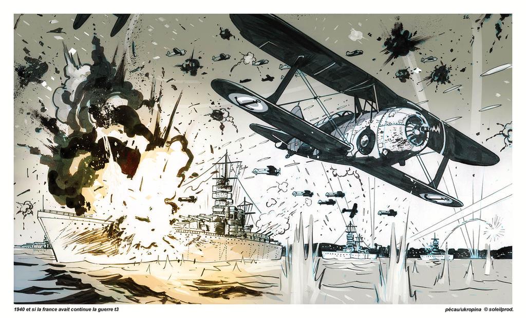 1940 Et Si La France 3 Page26 Panel 7 by Jovan-Ukropina