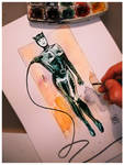 catwoman commission by Jovan-Ukropina